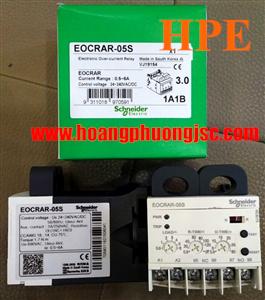 Rơ le bảo vệ quá dòng, reset tự động EOCRAR-60W Schneider