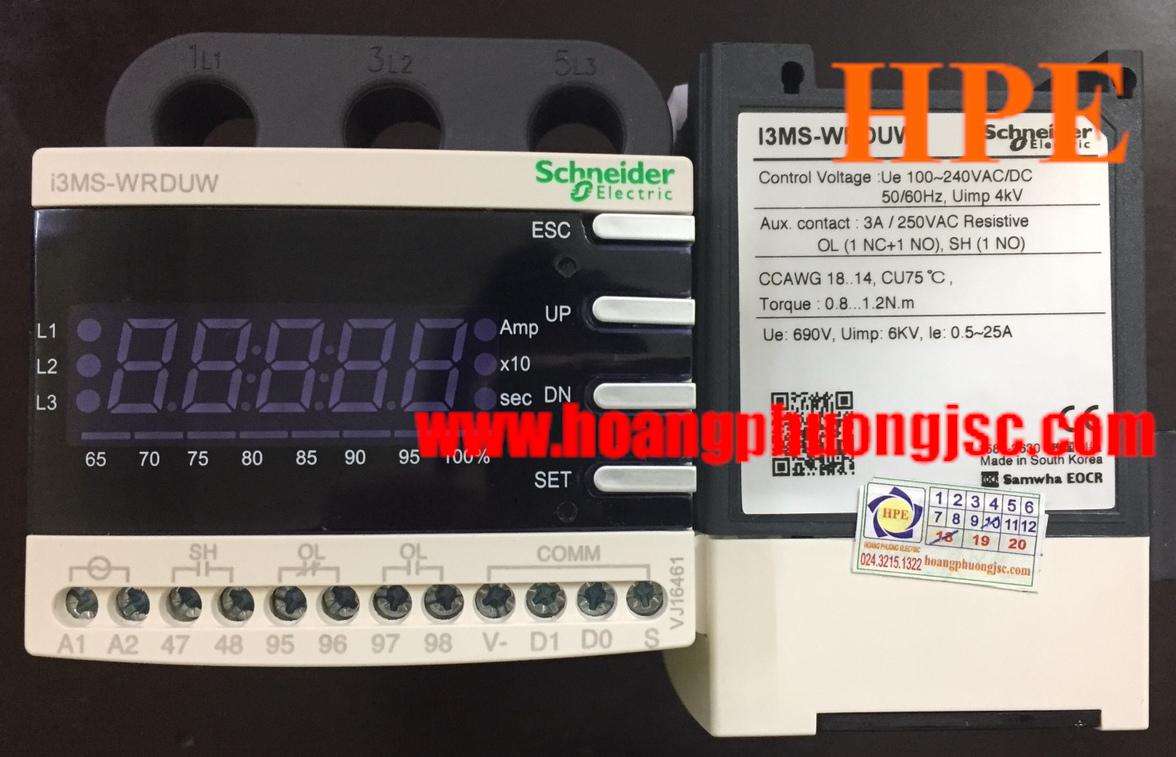 Rơ le điện tử Schneider i3MS-WRDUW