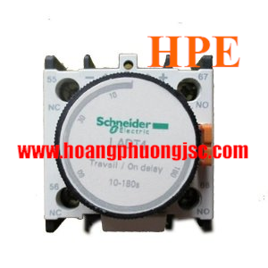 Tiếp điểm thời gian 1NO + 1NC on delay 10…180s, LADT4
