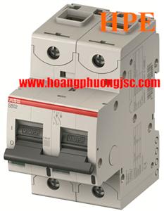 Aptomat ABB dòng cắt cao S802C-C50 2P 50A 25kA 2CCS882001R0504