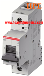 Aptomat ABB dòng cắt cao S801S-C125 1P 125A 50kA 2CCS861001R0844