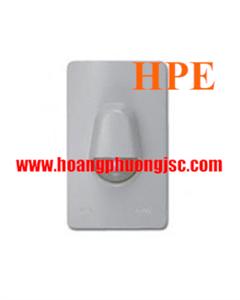 Nút nhấn chuông IP44 màu xám cho Series Concept A3031WBP_GY_G19