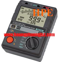 Đồng hồ đo điện trở cách điện Megaohm , (Mêgôm mét), Kyoritsu 3126, K3126