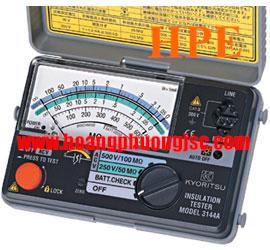 Đồng hồ đo điện trở cách điện Megaohm , (Mêgôm mét), Kyoritsu 3161A,K3161A