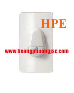 Nút nhấn chuông IP44 màu trắng cho Series Concept A3031WBP_WE_G19