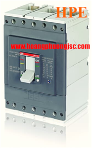 Aptomat MCCB ABB A3S 3P 630A 50kA 1SDA066567R1