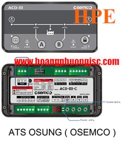 Bộ điều khiển ATS OSEMCO ACD-III-C ( RS485 )