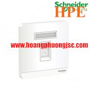 Bộ ổ cắm điện thoại đơn E8331RJS4_WE_G19 Schneider