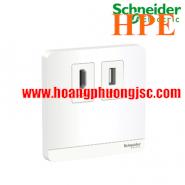 Bộ ổ cắm HDMI & USB dữ liệu E8332HDUSB_WE_G19 Schneider