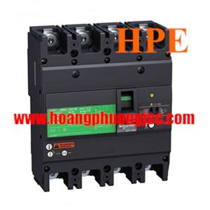 EZCV250H4100 - MCCB chống giật Schneider ELCB EZCV250H 100A 4P 36kA