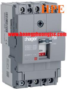 Thiết bị đóng cắt MCCB Hager HDA020Z