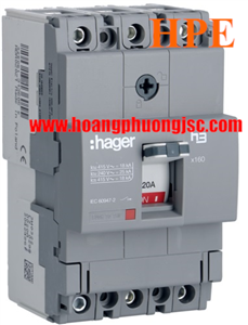 Thiết bị đóng cắt MCCB Hager HDA025Z