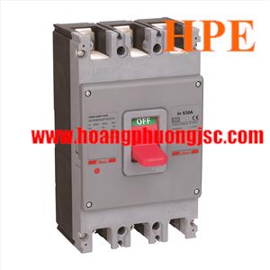 Cầu dao tự động MCCB 3P 630A 50kA  HDM3630F63033XX Himel