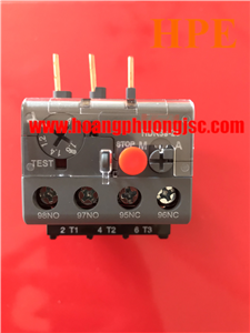 Relay nhiệt(1-1.6A) dùng cho contactor(9-18)A HDR3s251P6 Himel