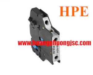 Tiếp điểm phụ lắp mặt bên 1NC+1NO HFC611 Himel
