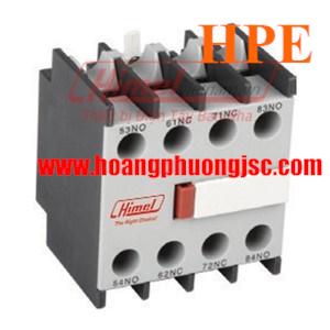 Tiếp điểm phụ lắp mặt trên 1NC+1NO HFD611 Himel