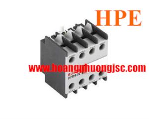 Tiếp điểm phụ lắp mặt trên 2NC+2NO HFD622 Himel