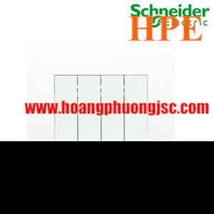 Bộ công tắc bốn 1 chiều 16AX Schneider KB34S_1_WE Vivace