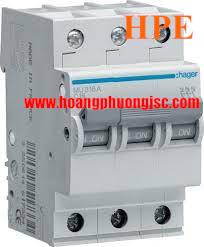 Aptomat MCB 3P 50A 6KA MU350A Hager