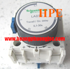 Tiếp điểm thời gian 1NO + 1NC on delay 1…30s, LADT2